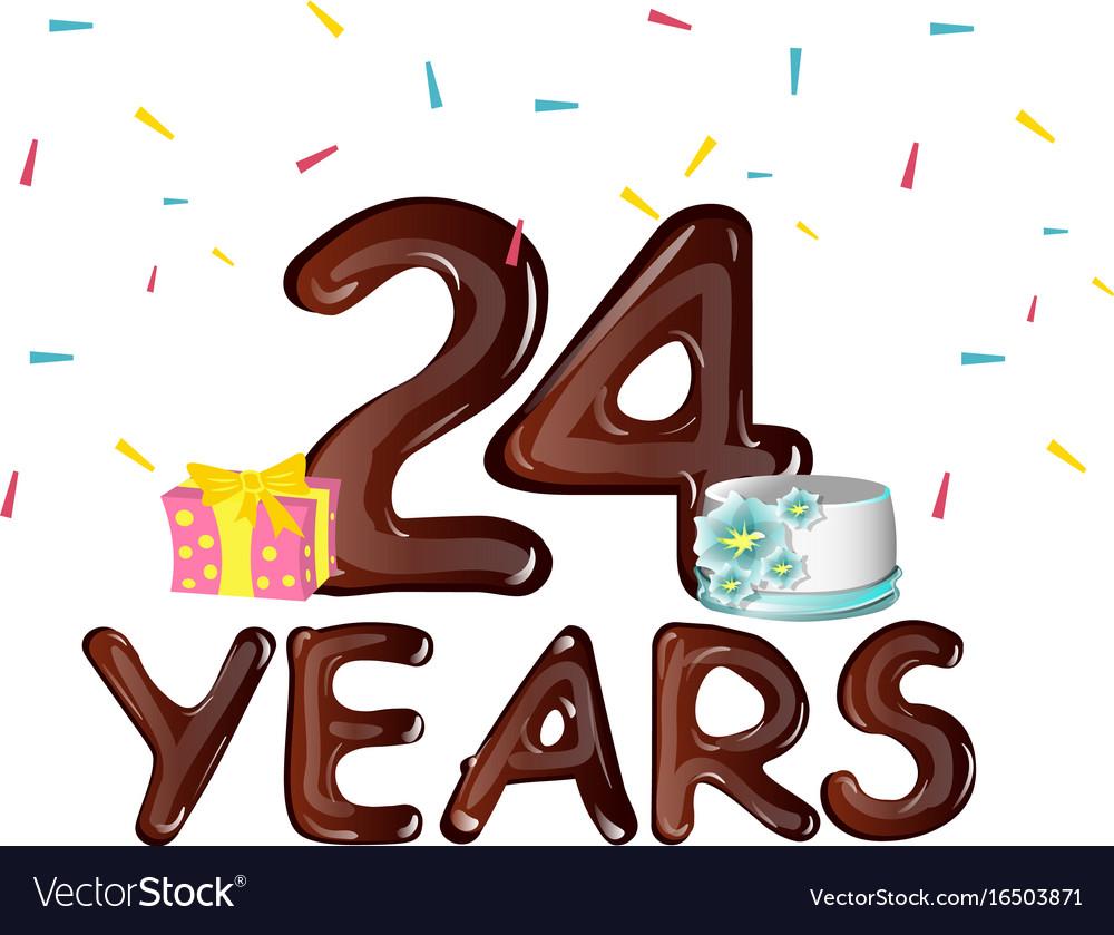 Поздравление девушке с днём рождения 24 года 80