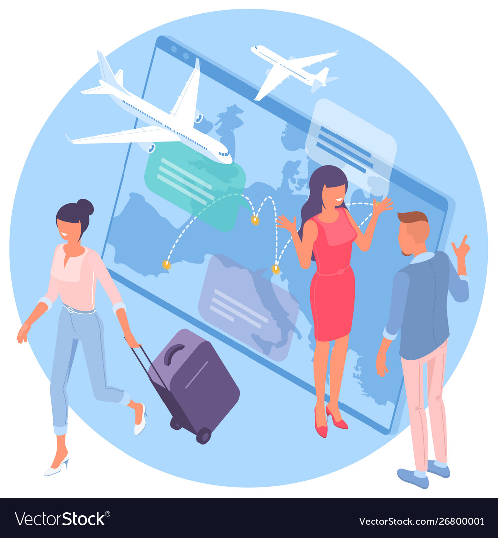 Airline flight booking service