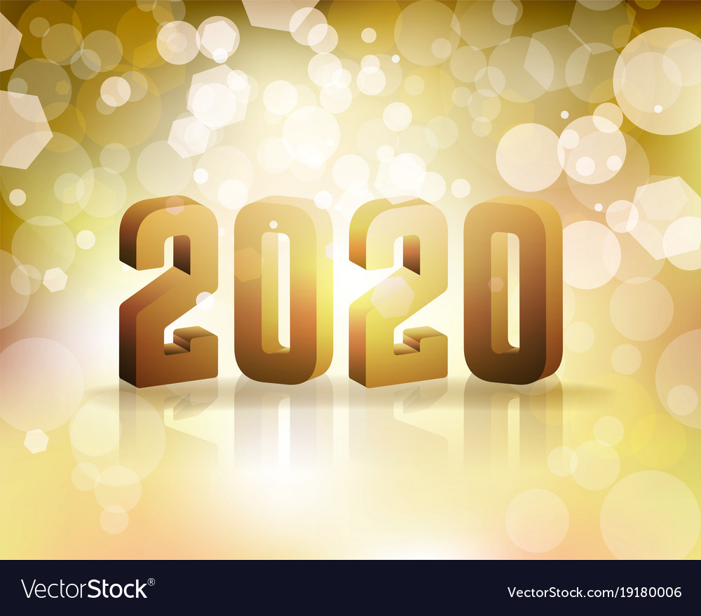 New Years 2020 2020 new years eve concept Royalty Free Vector Image