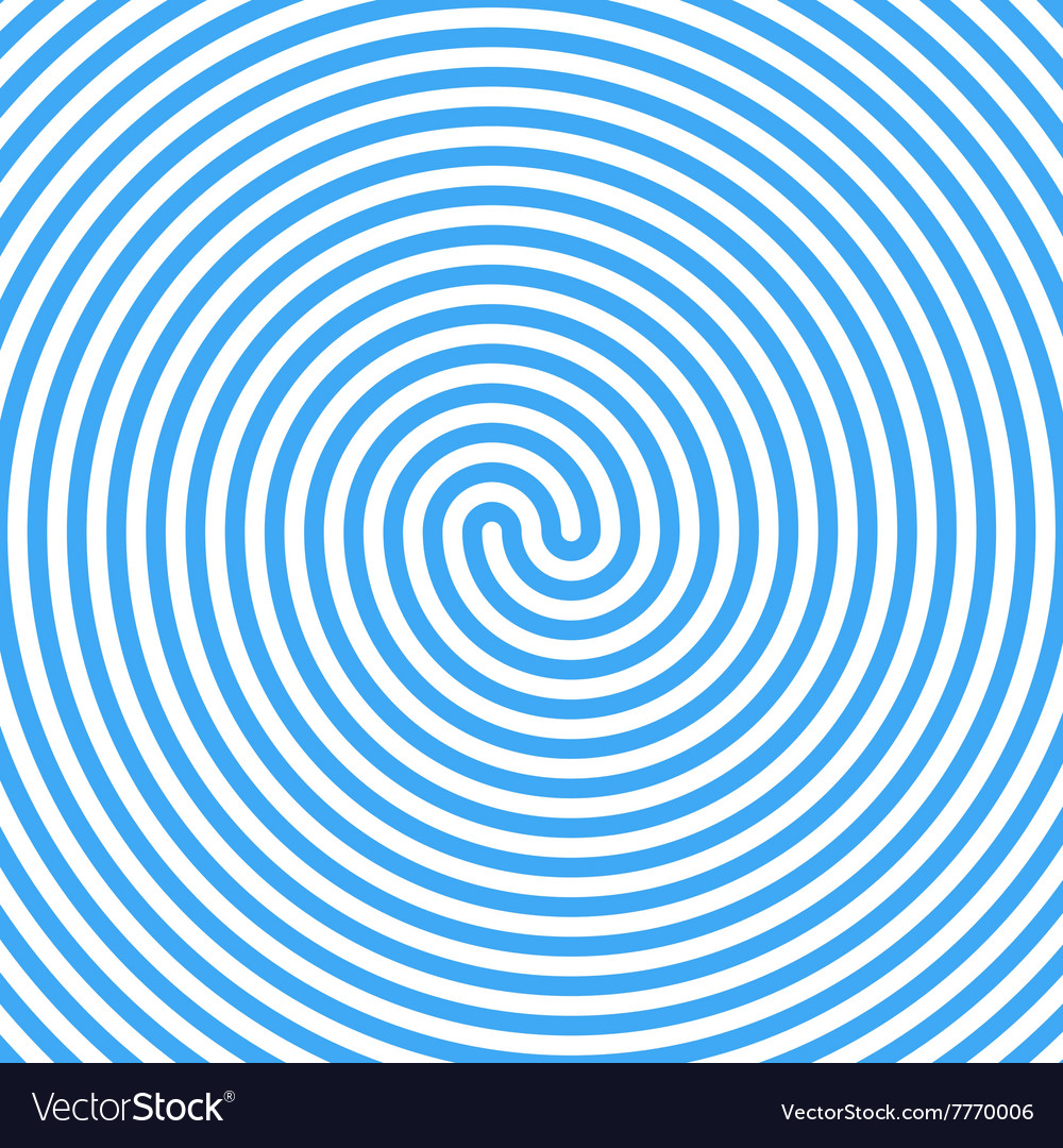 Blue Water Whirlpool Abstract Spiral Background