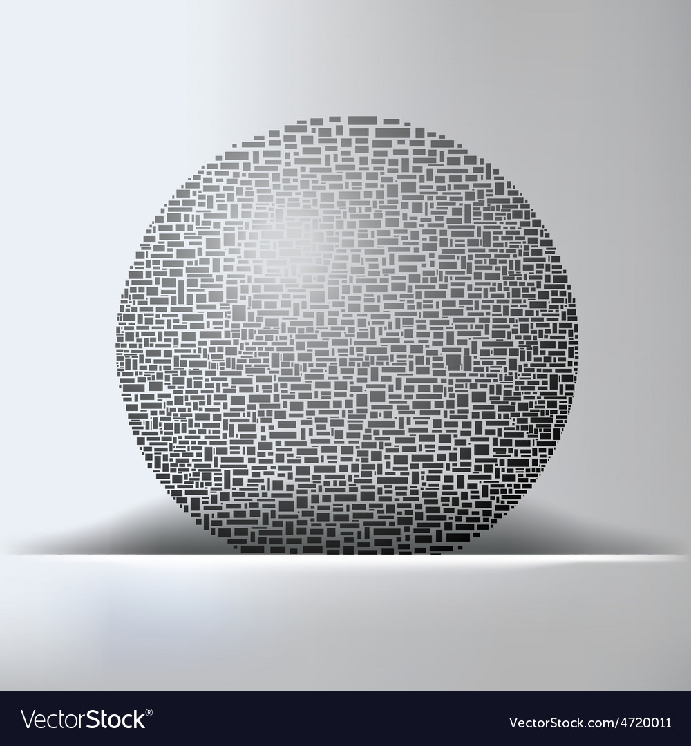 Globe Abstract Background Royalty Free Vector Image