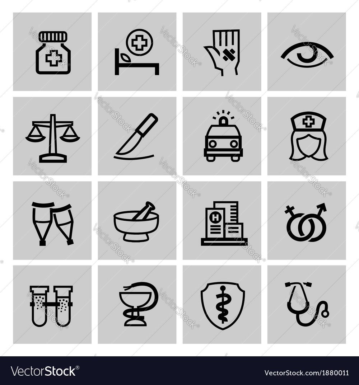 Medicine Heath Care icons