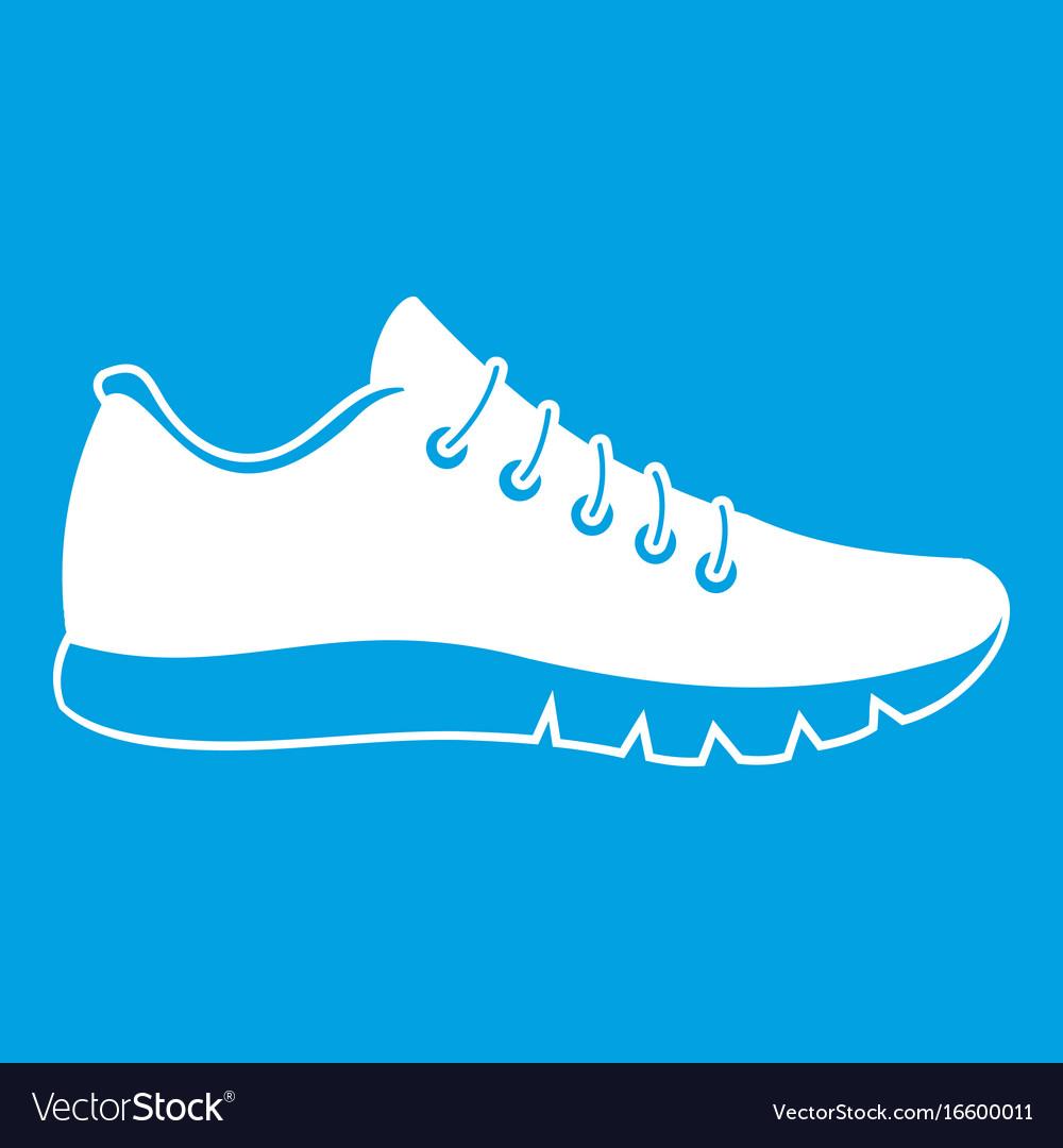 Sneakers icon white