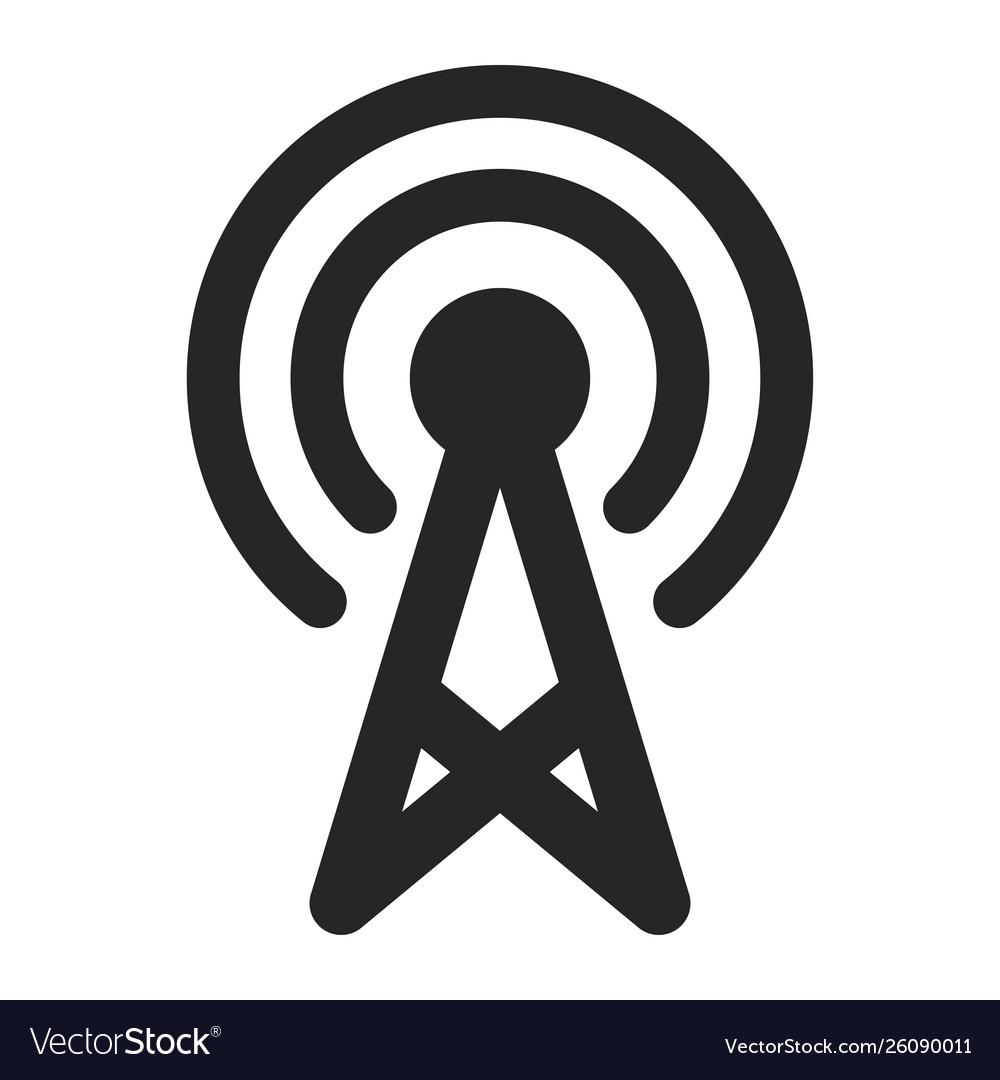 Wireless network icon computer networks black