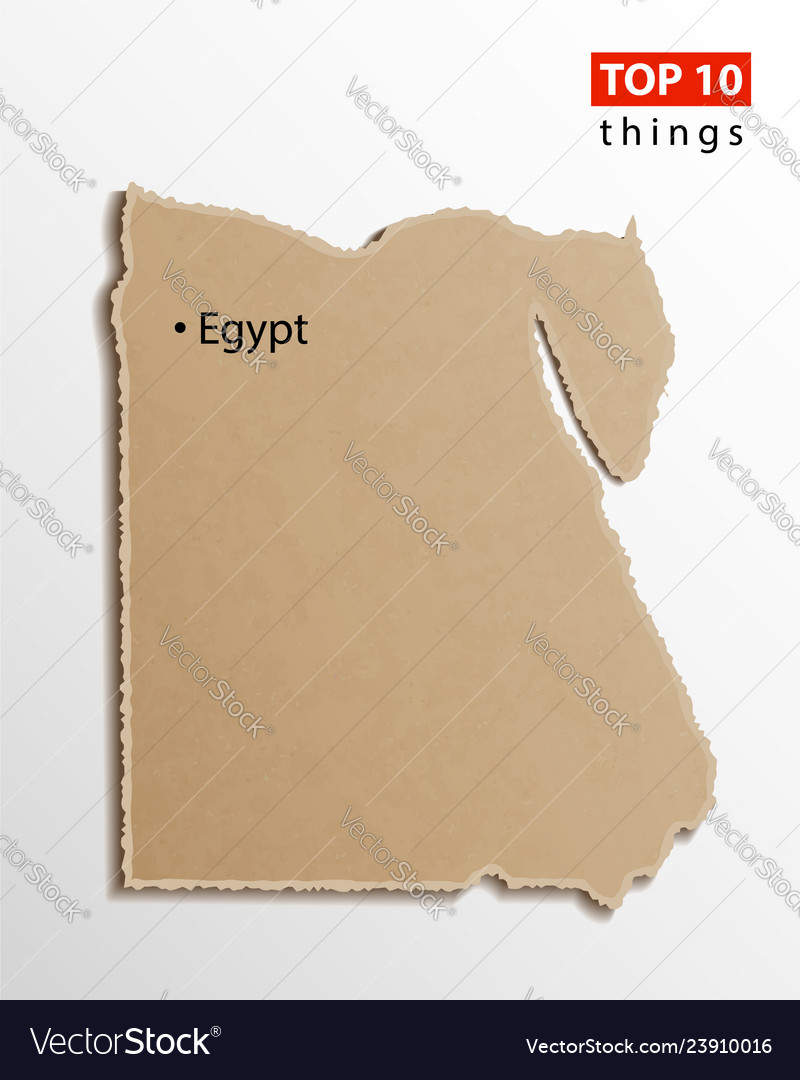 Egypt map egyptian maps craft paper texture