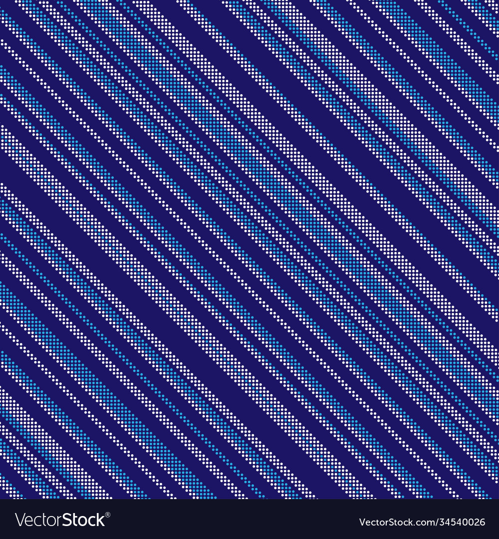 Dotted diagonal blue background