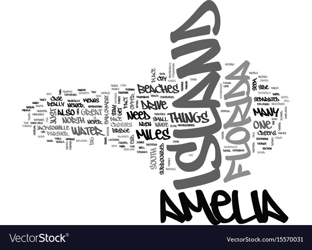 Amelia island condo rentals text word cloud