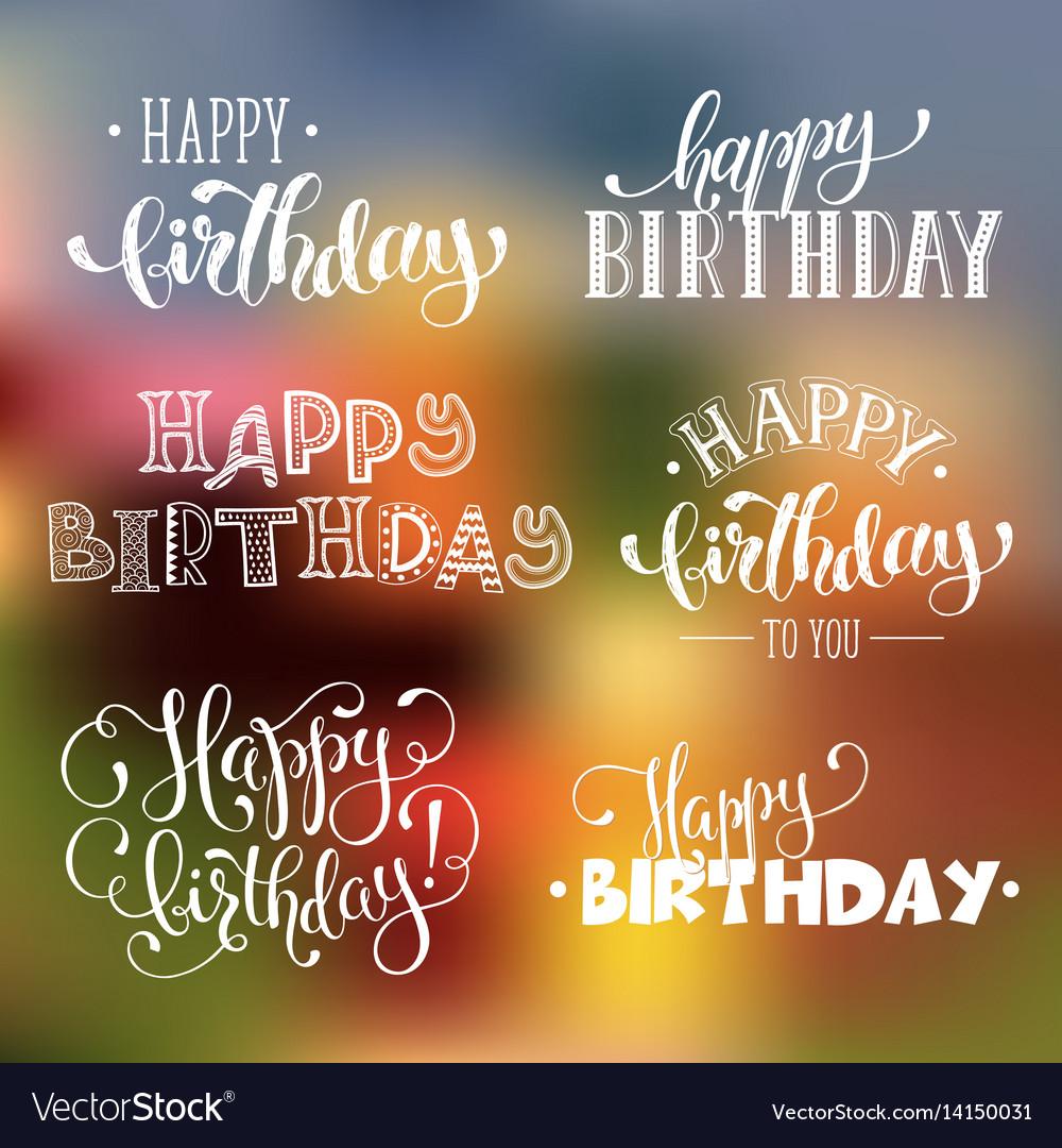 Happy birthday phrases