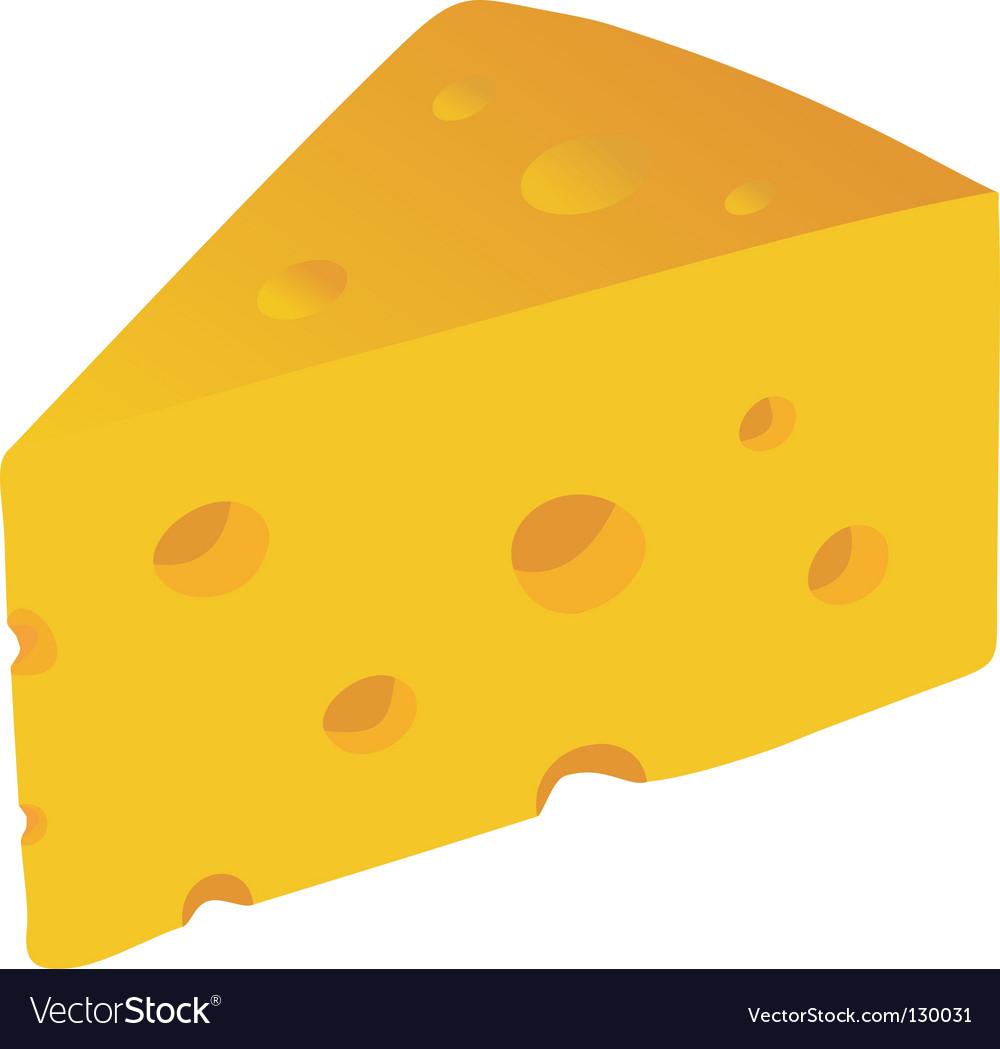 swiss cheese royalty free vector image vectorstock