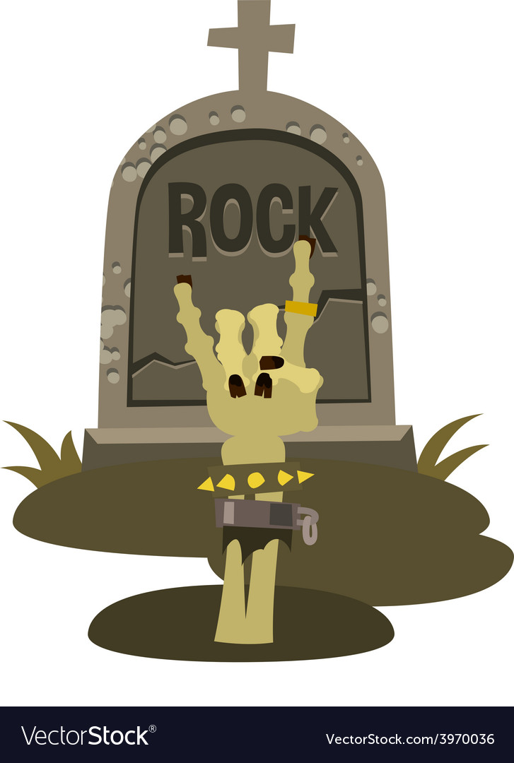 Rock is dead and sign of the horns