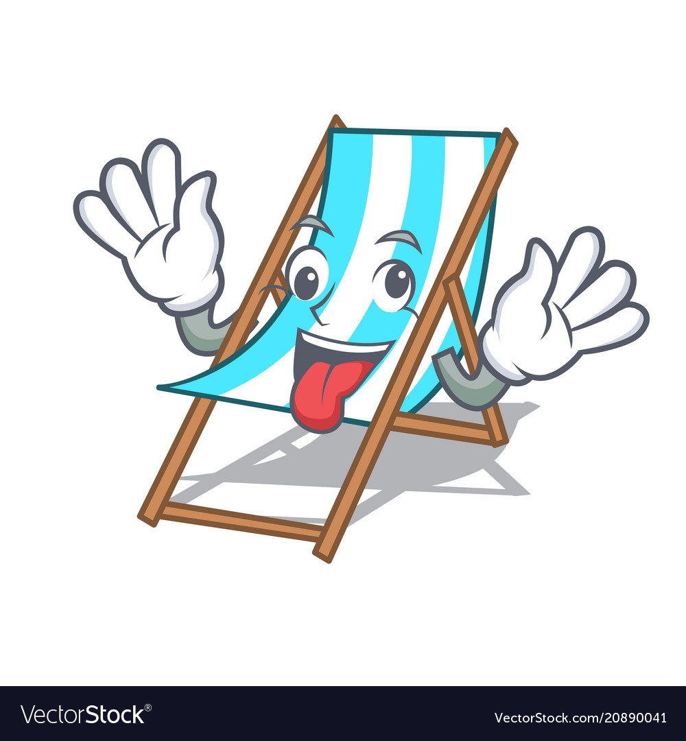 Awesome Crazy Beach Chair Mascot Cartoon Forskolin Free Trial Chair Design Images Forskolin Free Trialorg