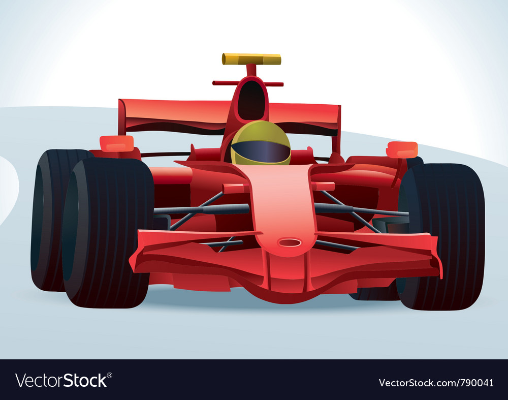 Auto Racing Cart on F1 Racing Car Vector 790041 By H4nk