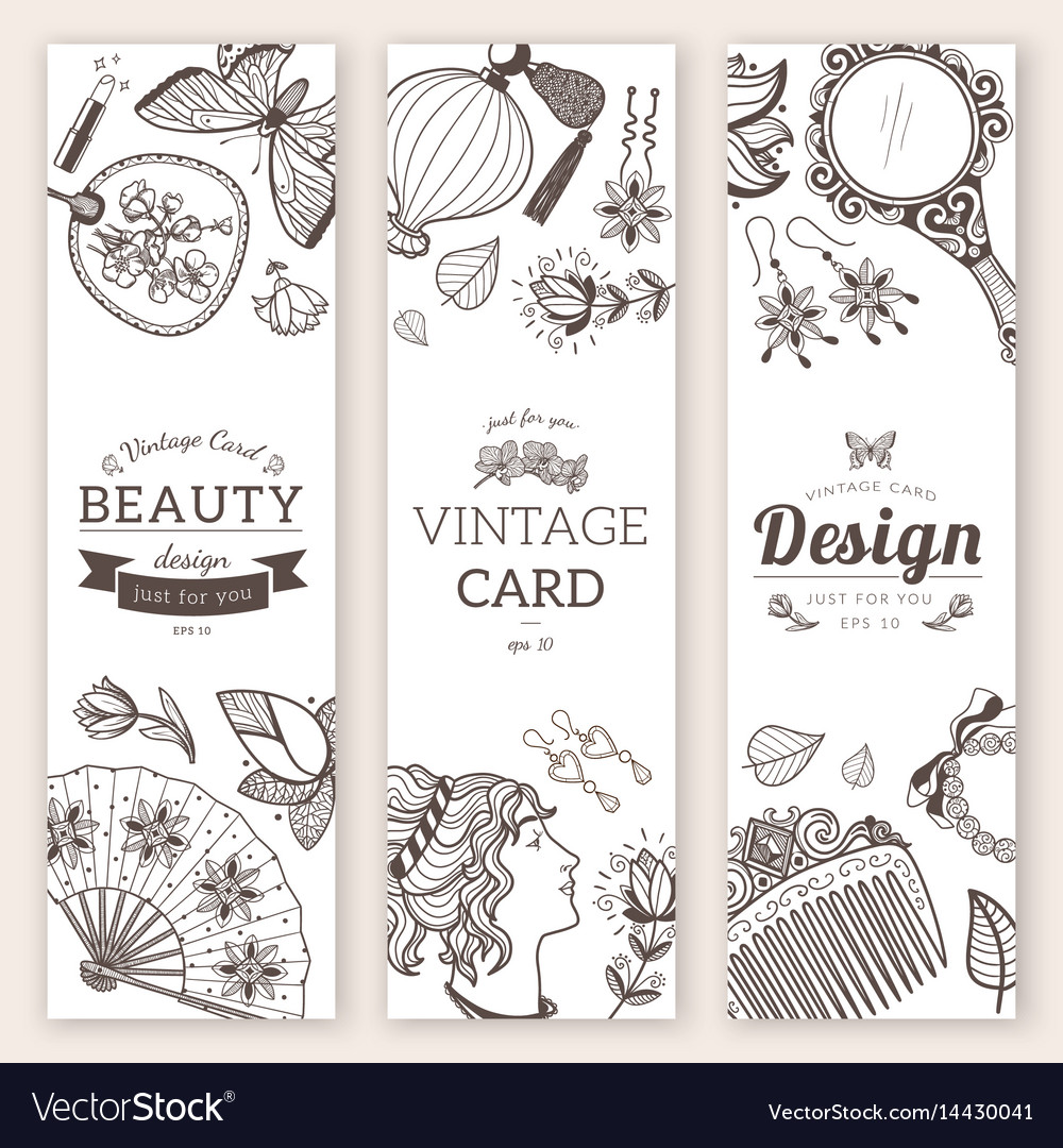 Sketch objects composition vector image