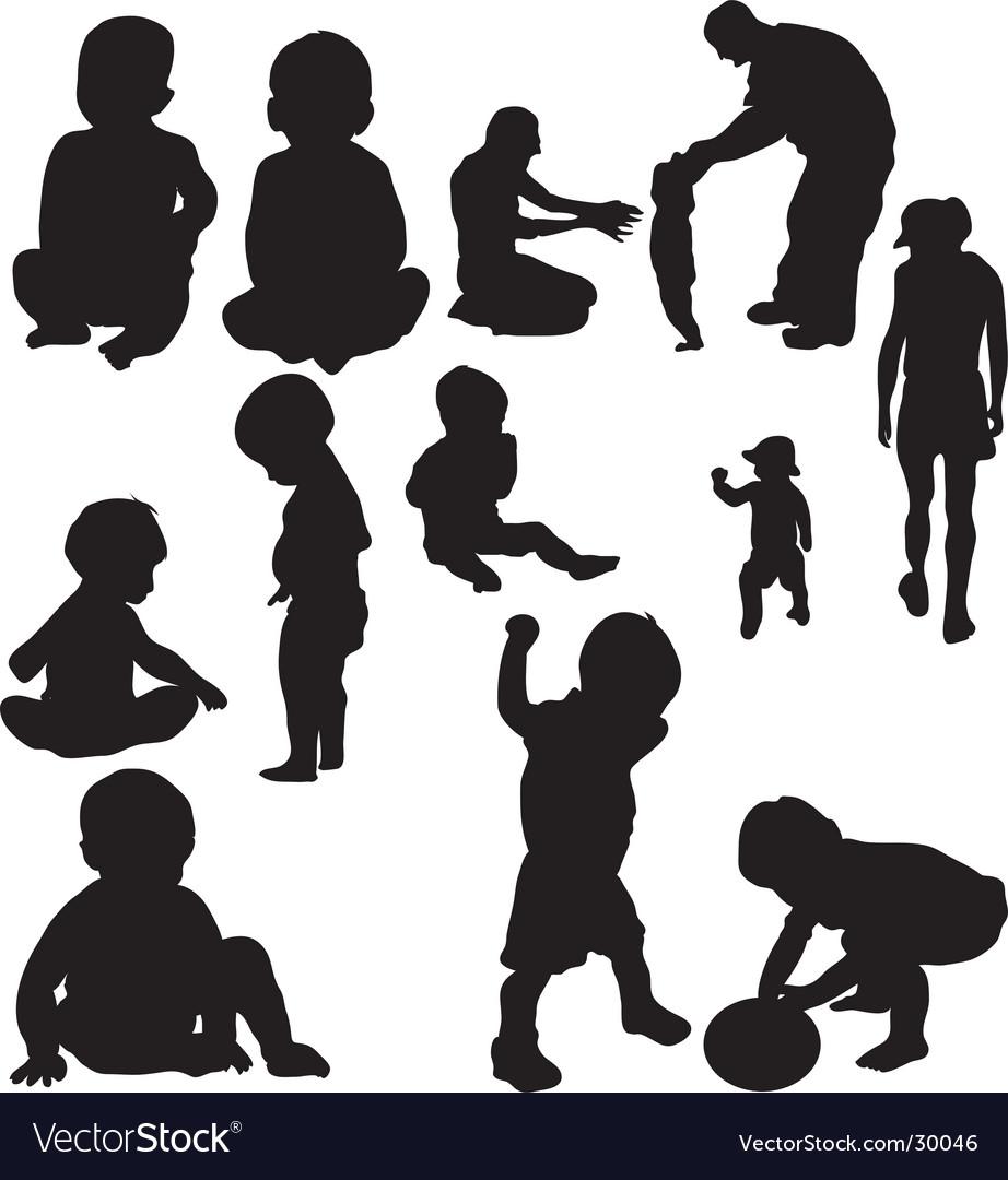 children royalty free vector image vectorstock rh vectorstock com children vector free children victorian costume