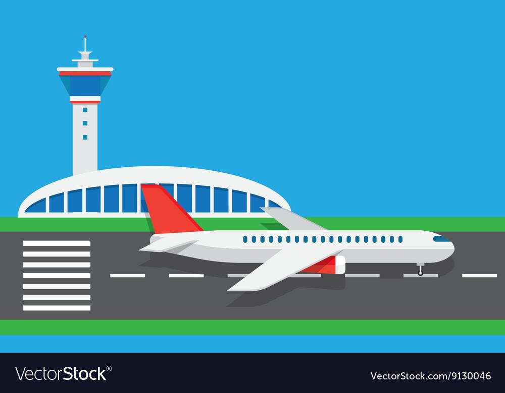 Flat airport
