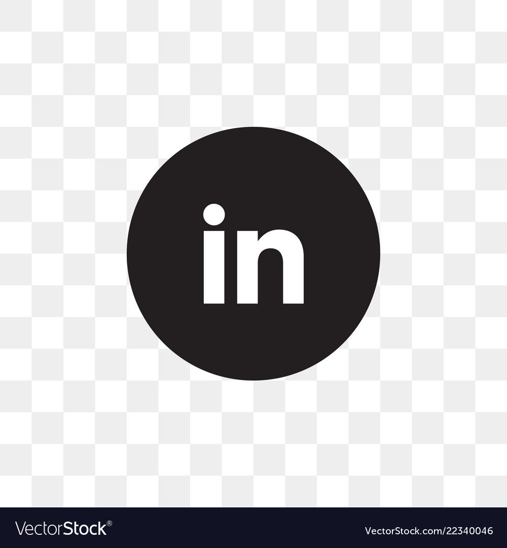 Linkedin Social Media Icon Design Template
