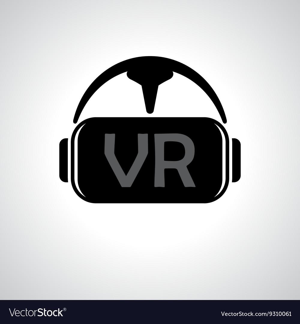 Virtual reality glasses background