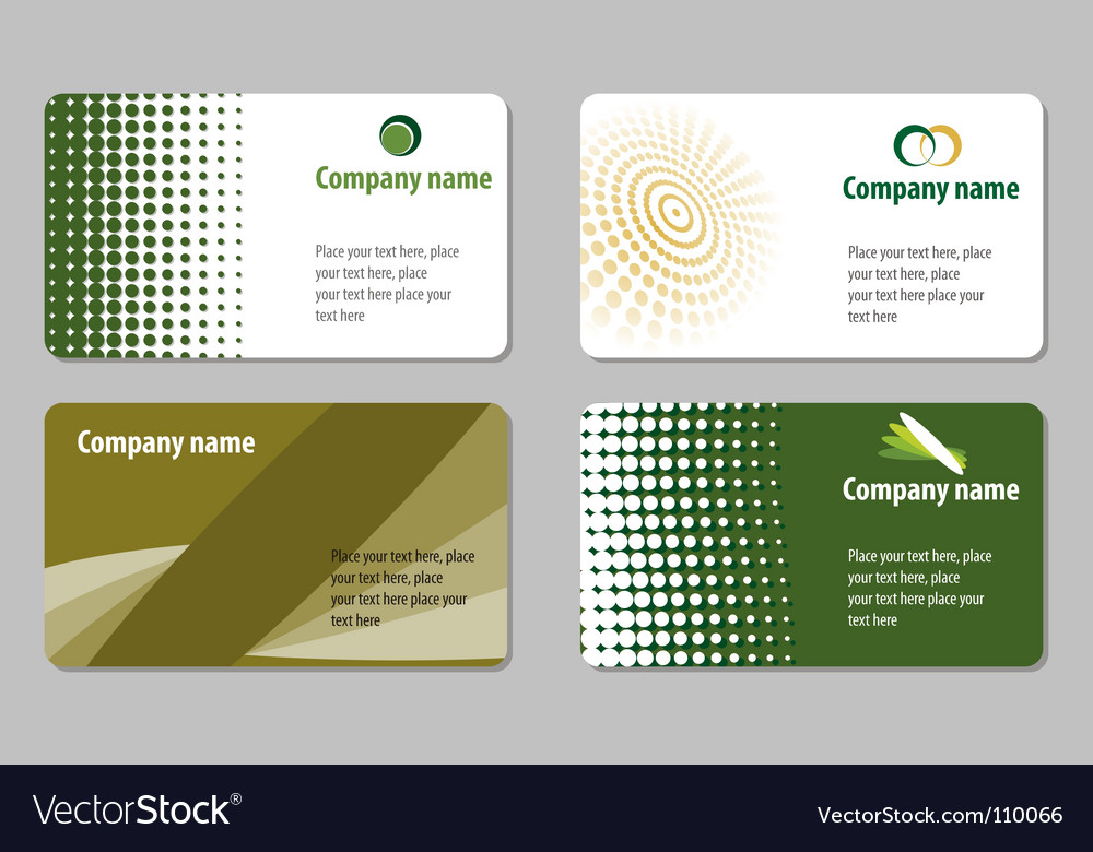Business card templates royalty free vector image business card templates vector image flashek Image collections