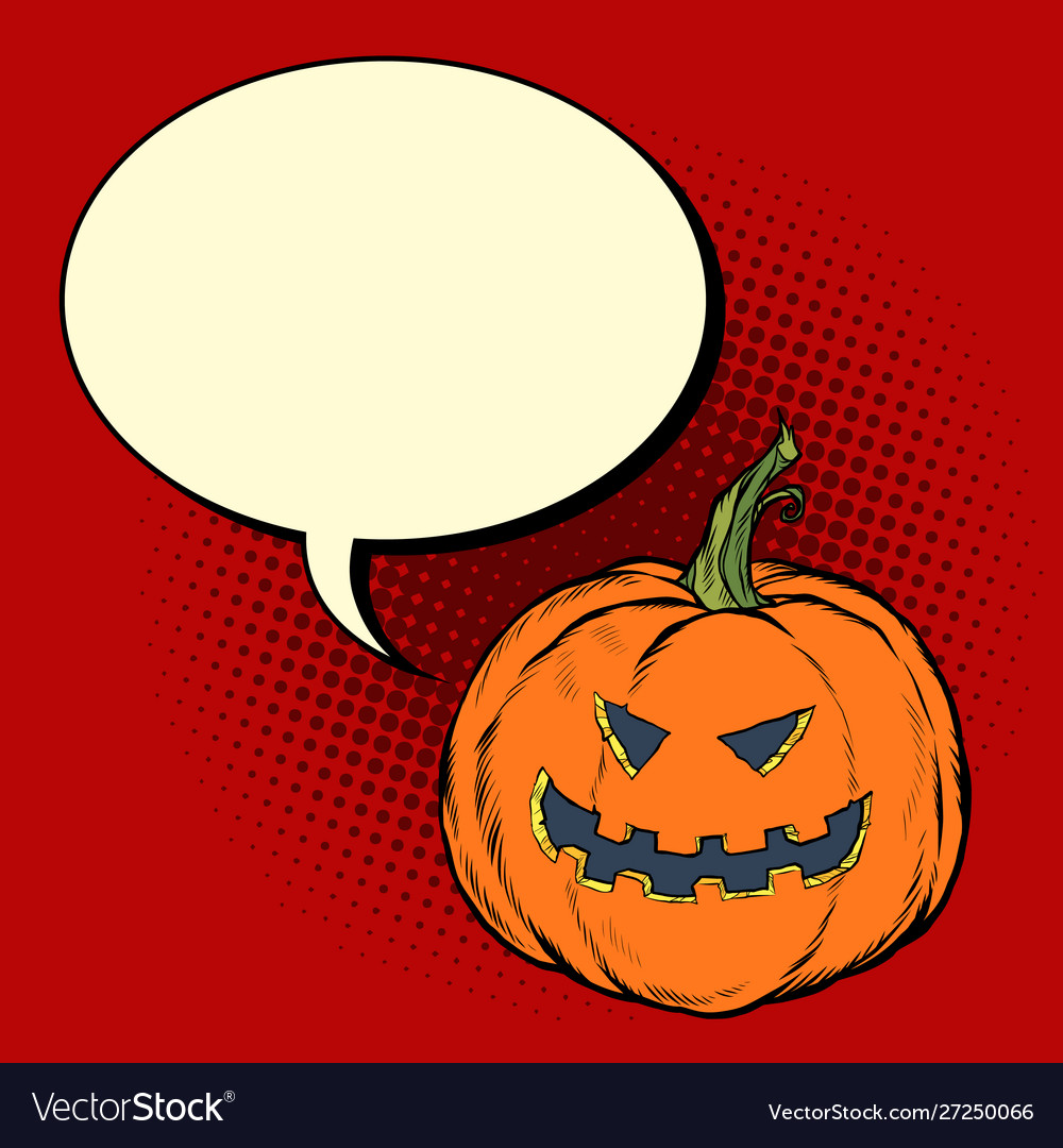 Halloween pumpkin invitation to party poster
