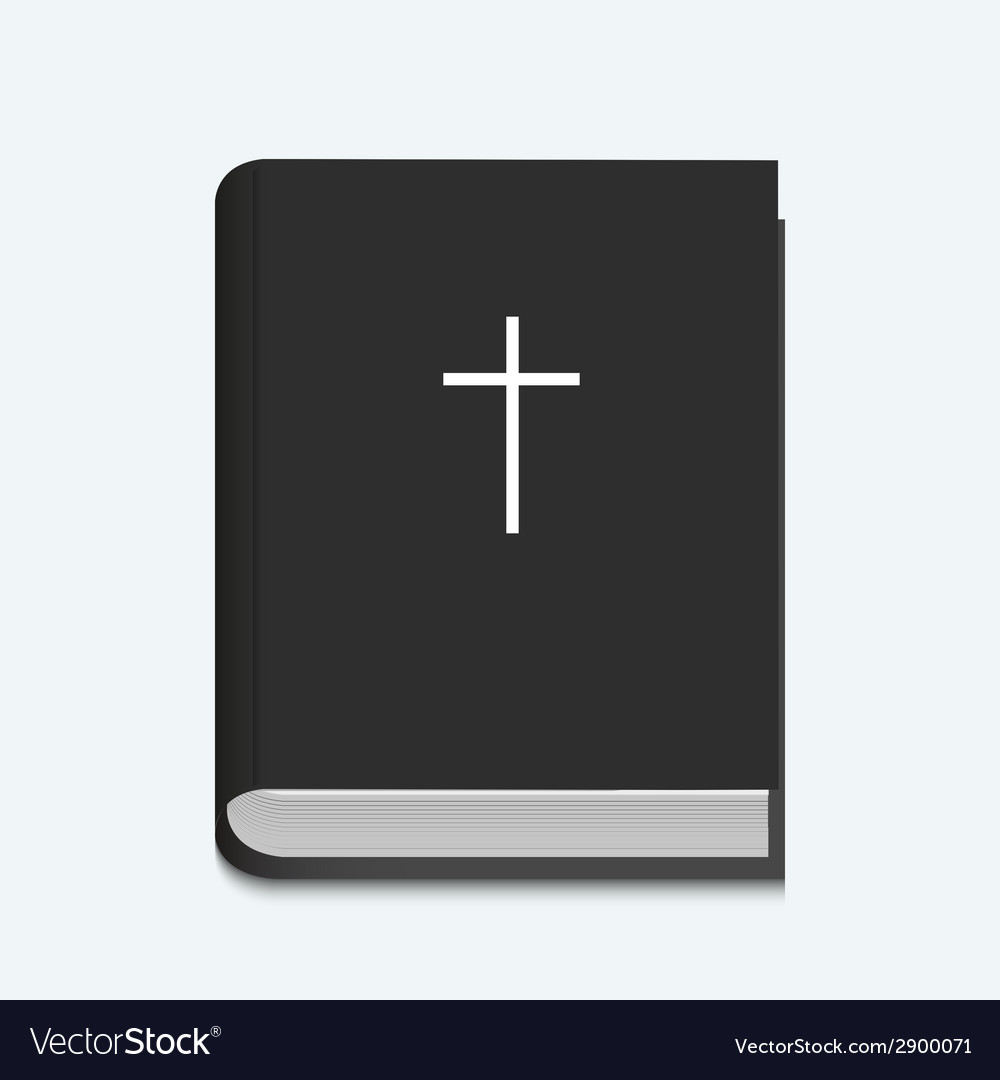 Bible on white background