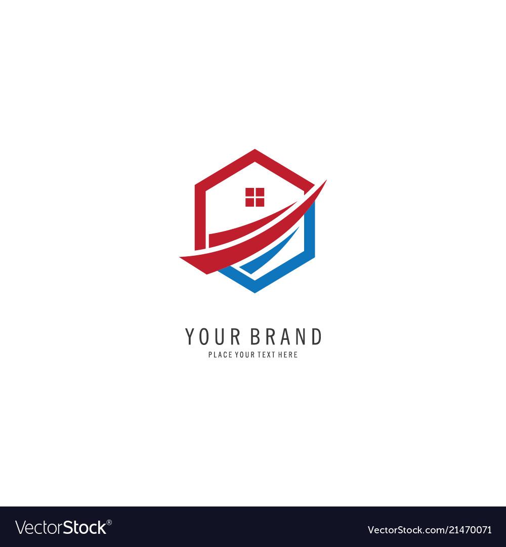 Home property symbol logo