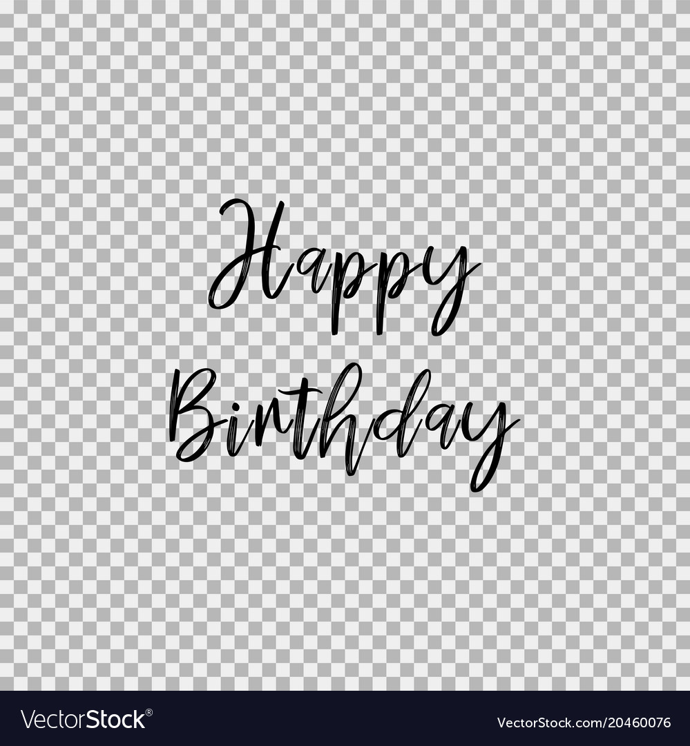 Happy Birthday No Background Esmite