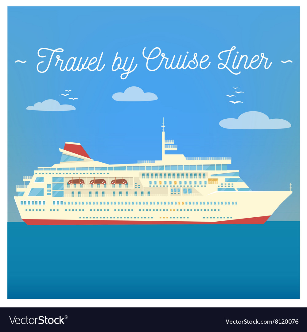 Travel Banner Tourism Industry Cruise Liner