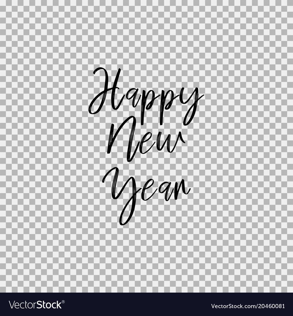 Happy New Year Transparent 3