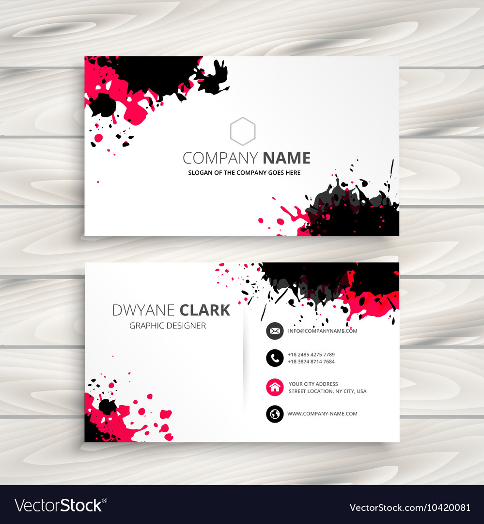 Ink Business Cards Gallery - Business Card Template