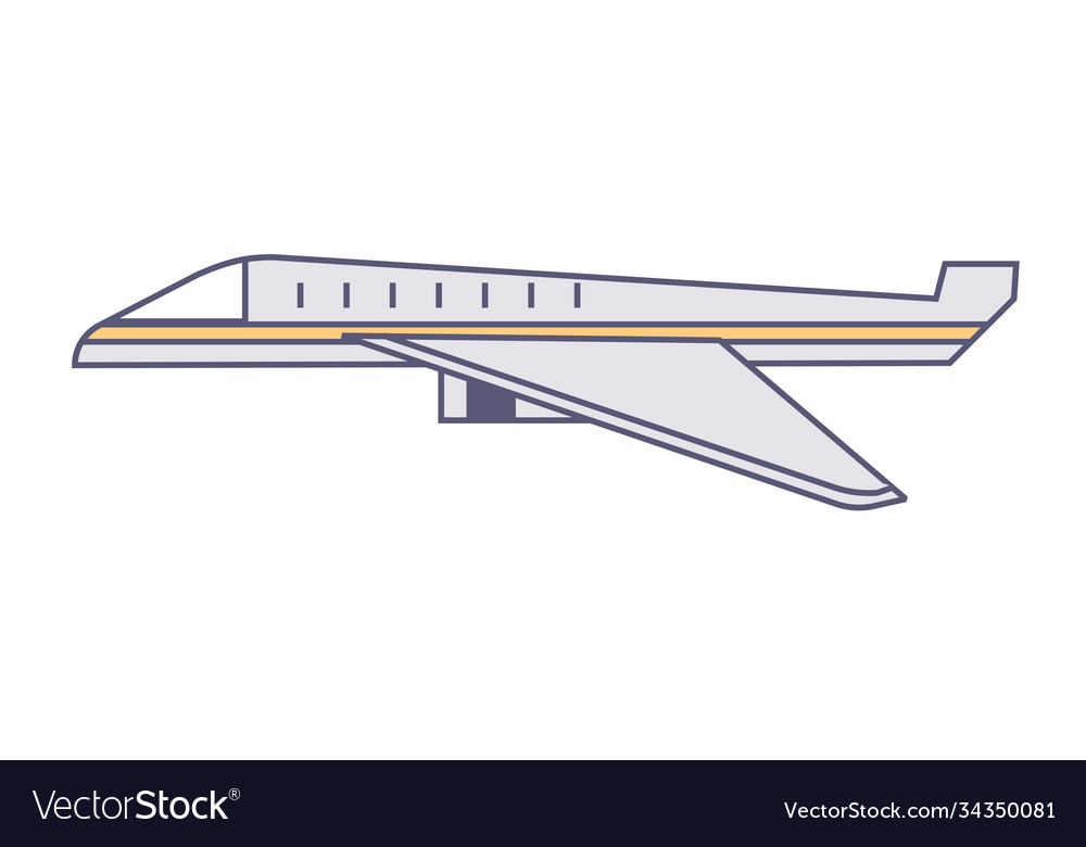 Plane traveling or delivering cargo logistics
