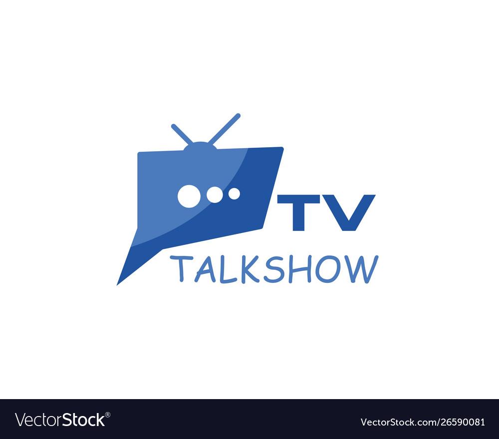 Tv logo design