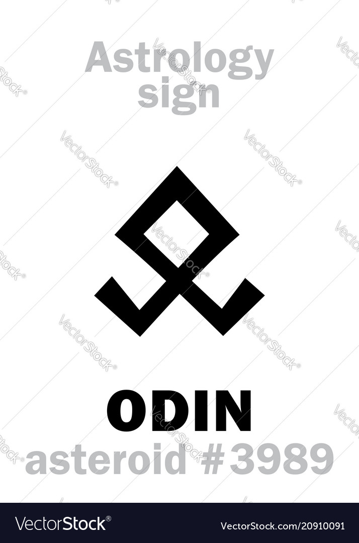 Astrology asteroid odin