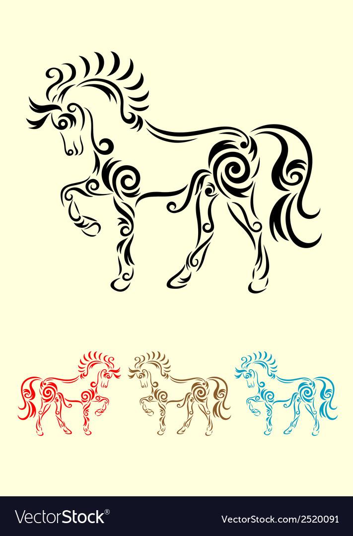 Horse decorative