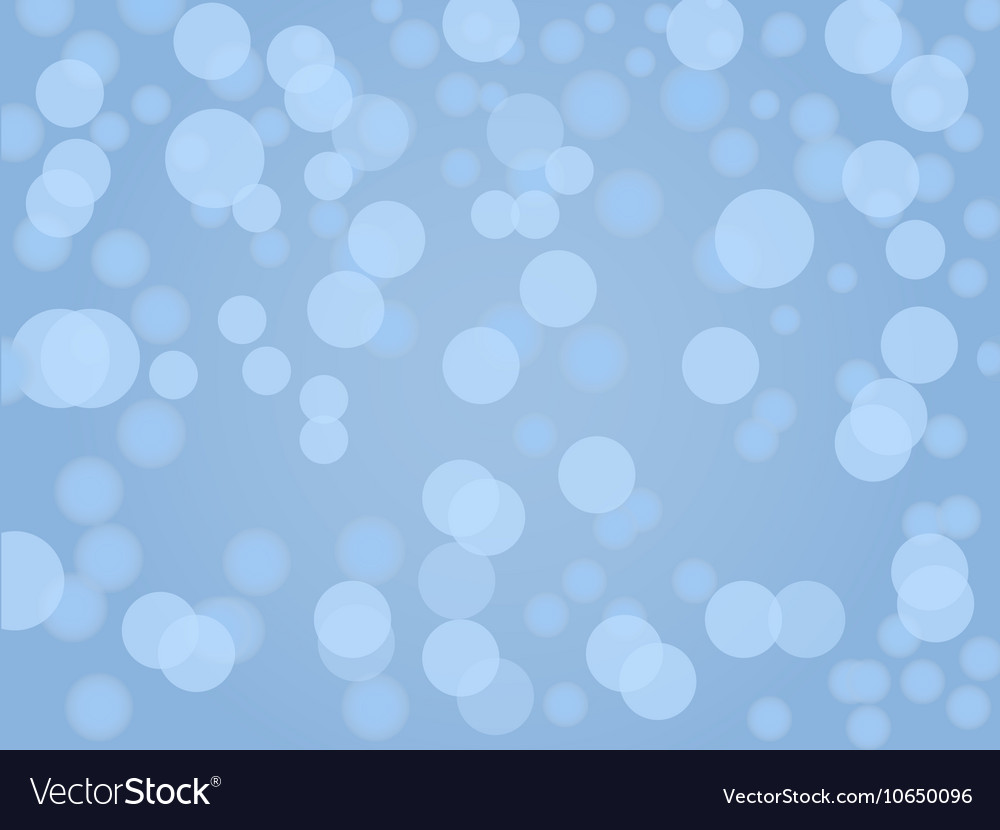 Abstract background with blur and bokeh lights