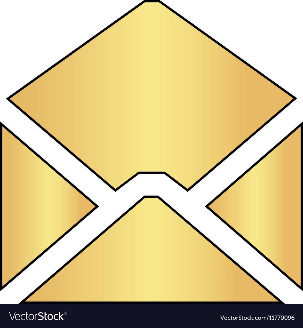 Mail computer symbol