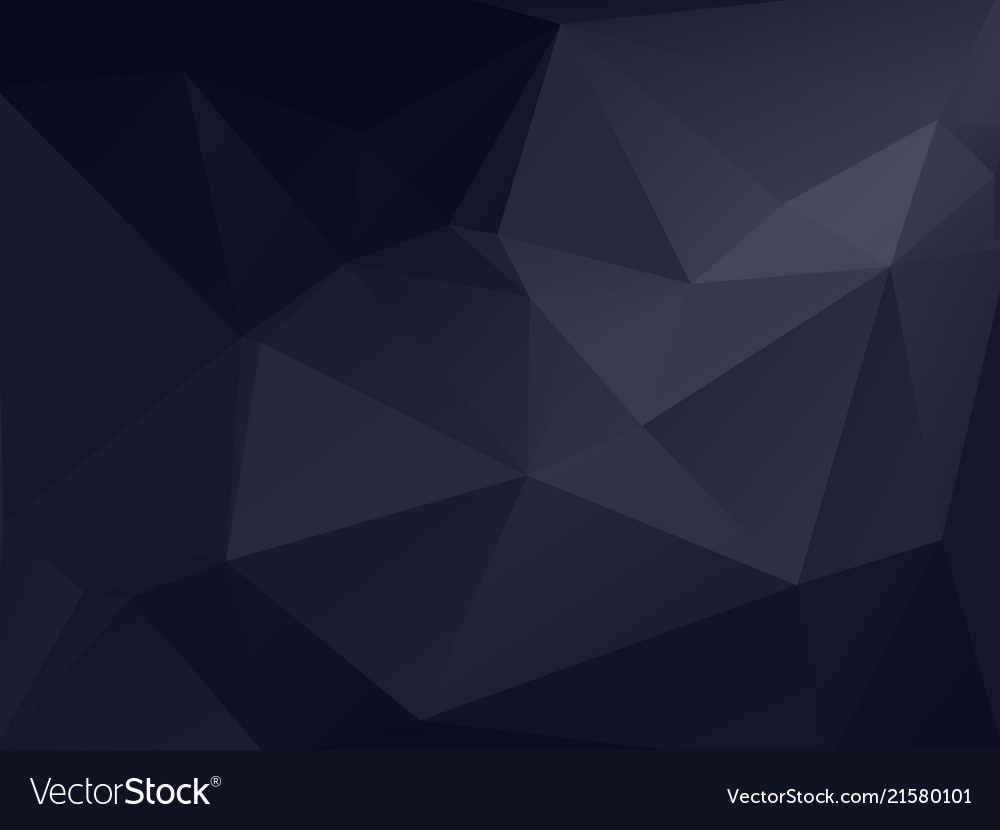 Dark gray polygonal texture background