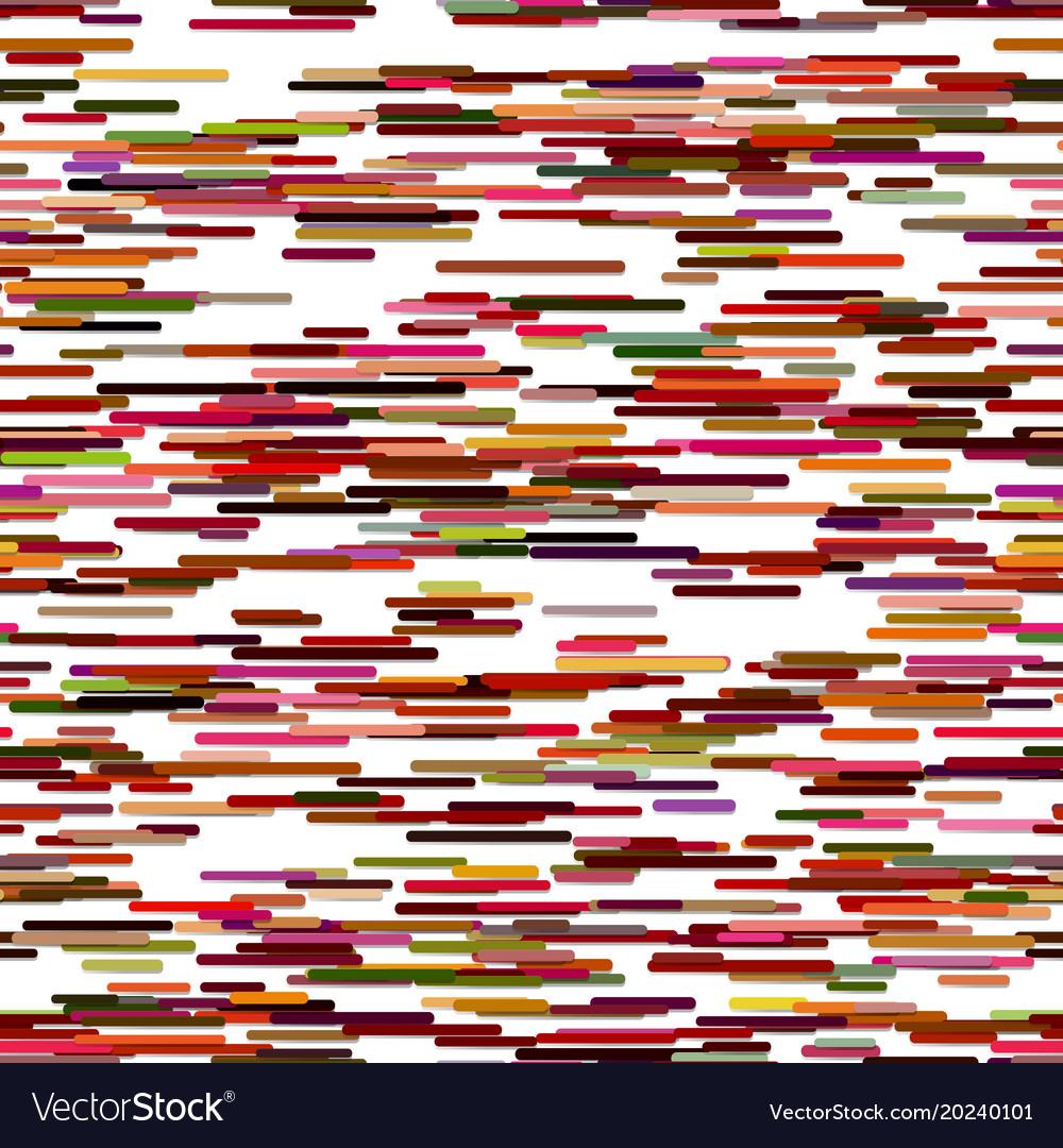 Horizontal stripe pattern background design vector image