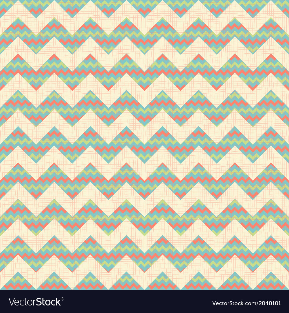 Seamless geometric zig zag chevron pattern