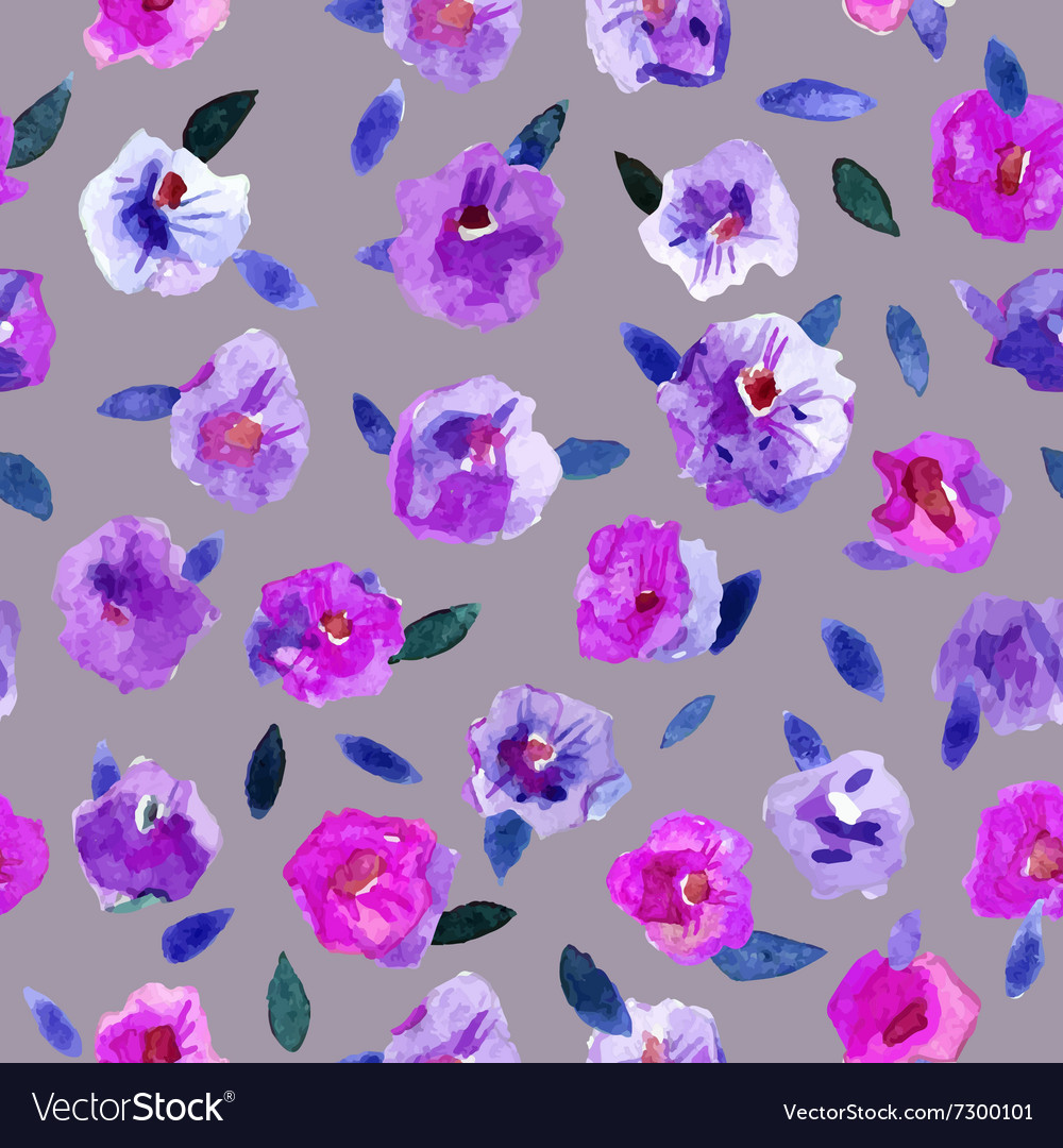 Seamless pattern with beautiful hand paint