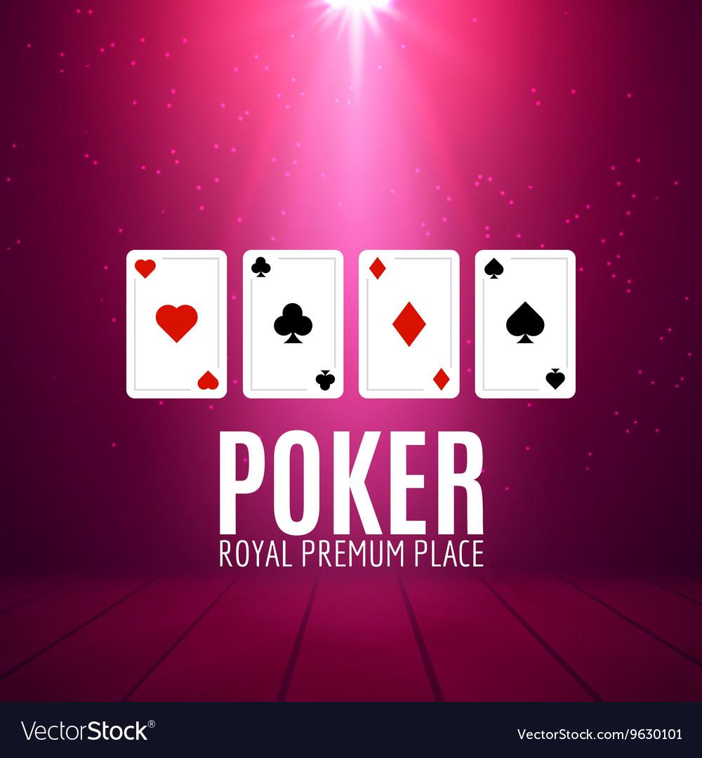 Shining Casino Banner Poster Show spotlight