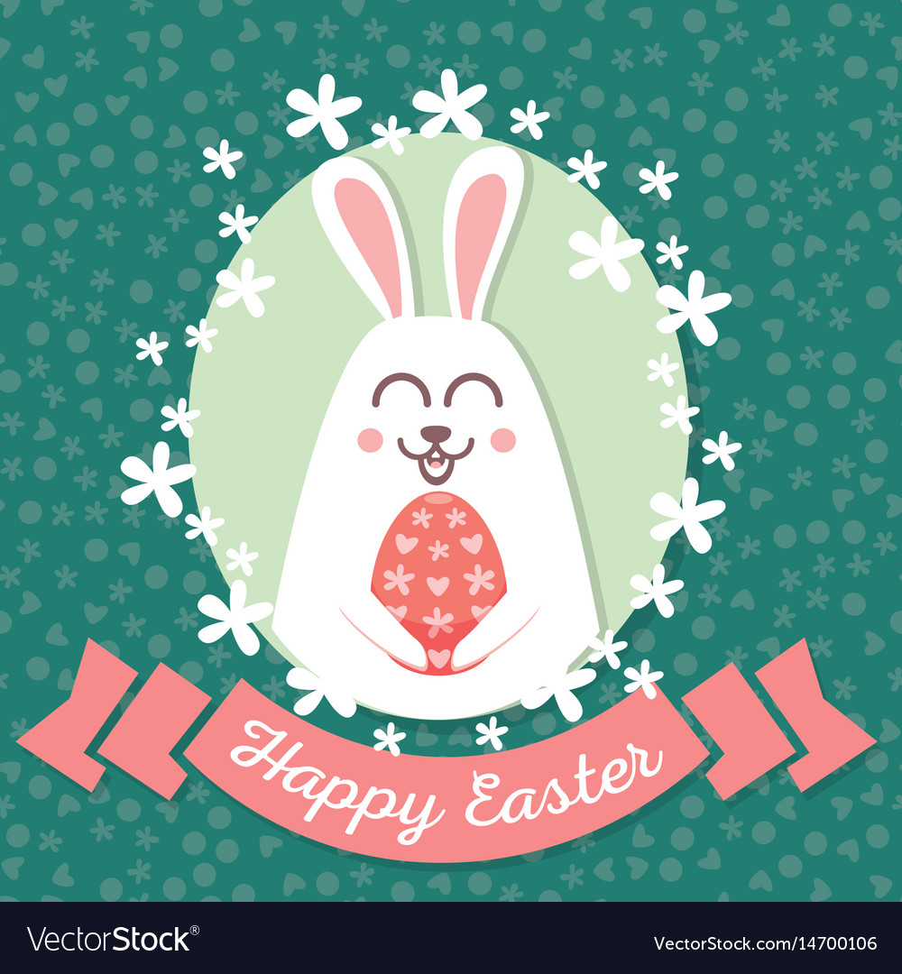 Happy easter rabbit happy easter backgrounds