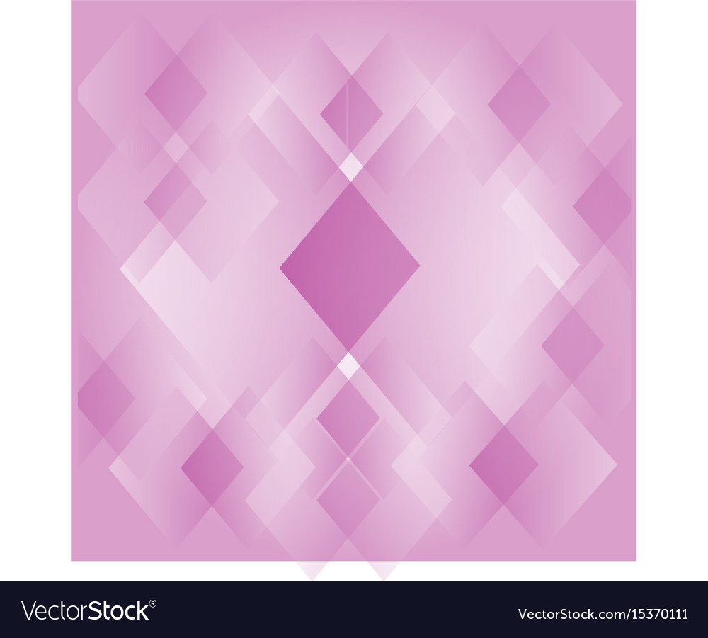 Abstract Diamond Shape Pink Background Wallpaper