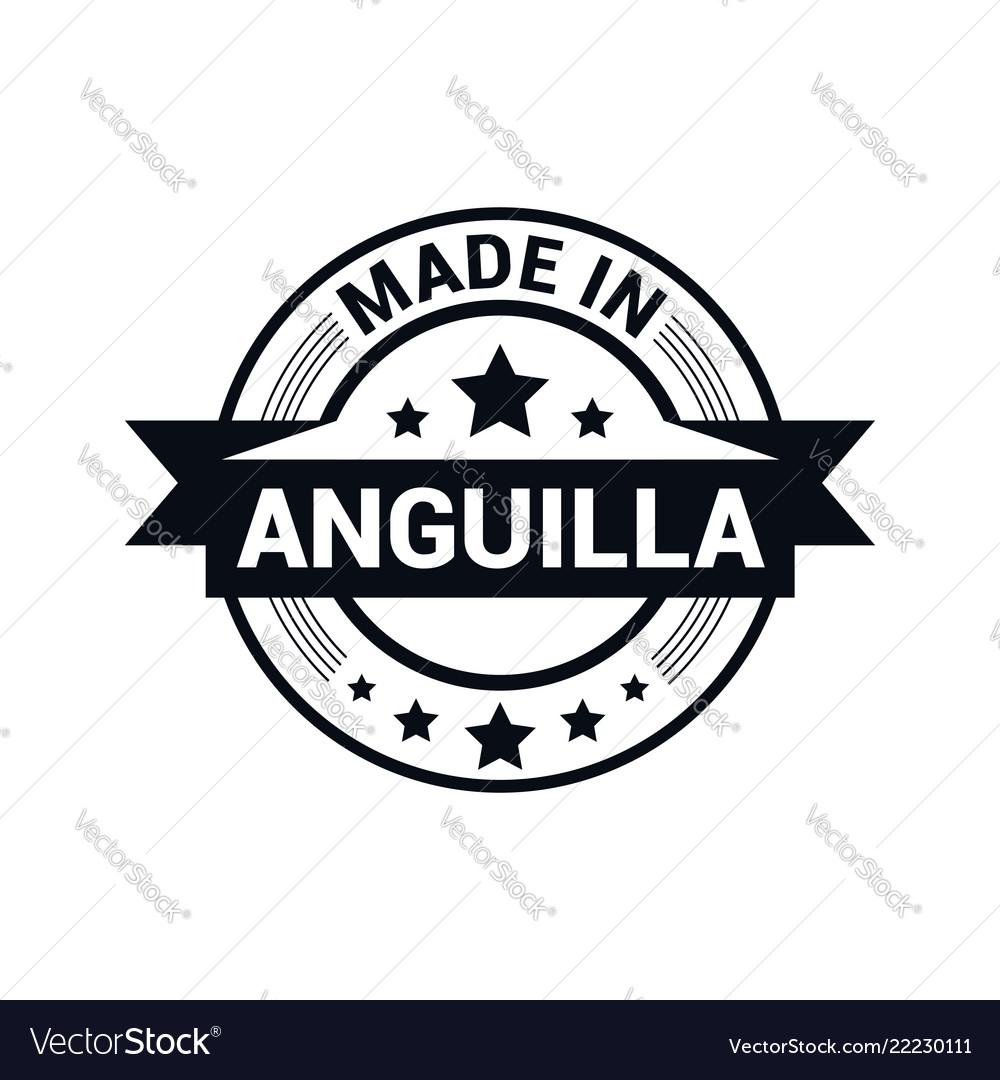 Anguilla stamp design