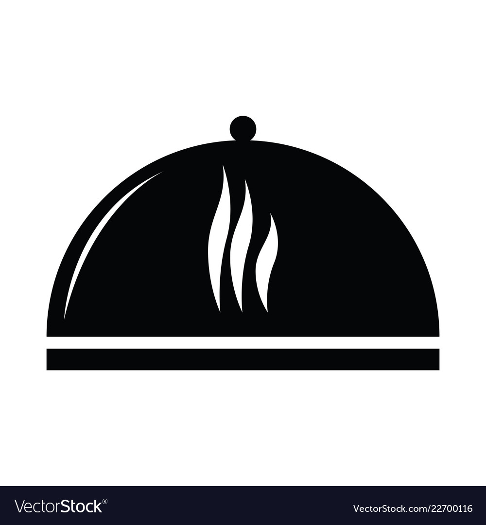 Food cover silhouette