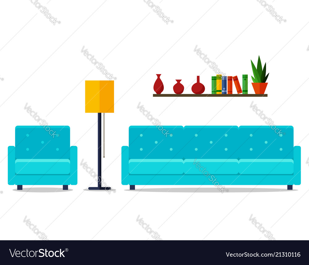 Home interior for web site print poster