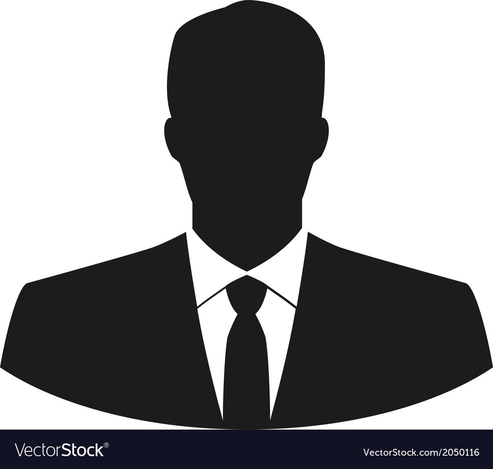 user icon of man in business suit royalty free vector image rh vectorstock com men victorian hats men victorian fashion