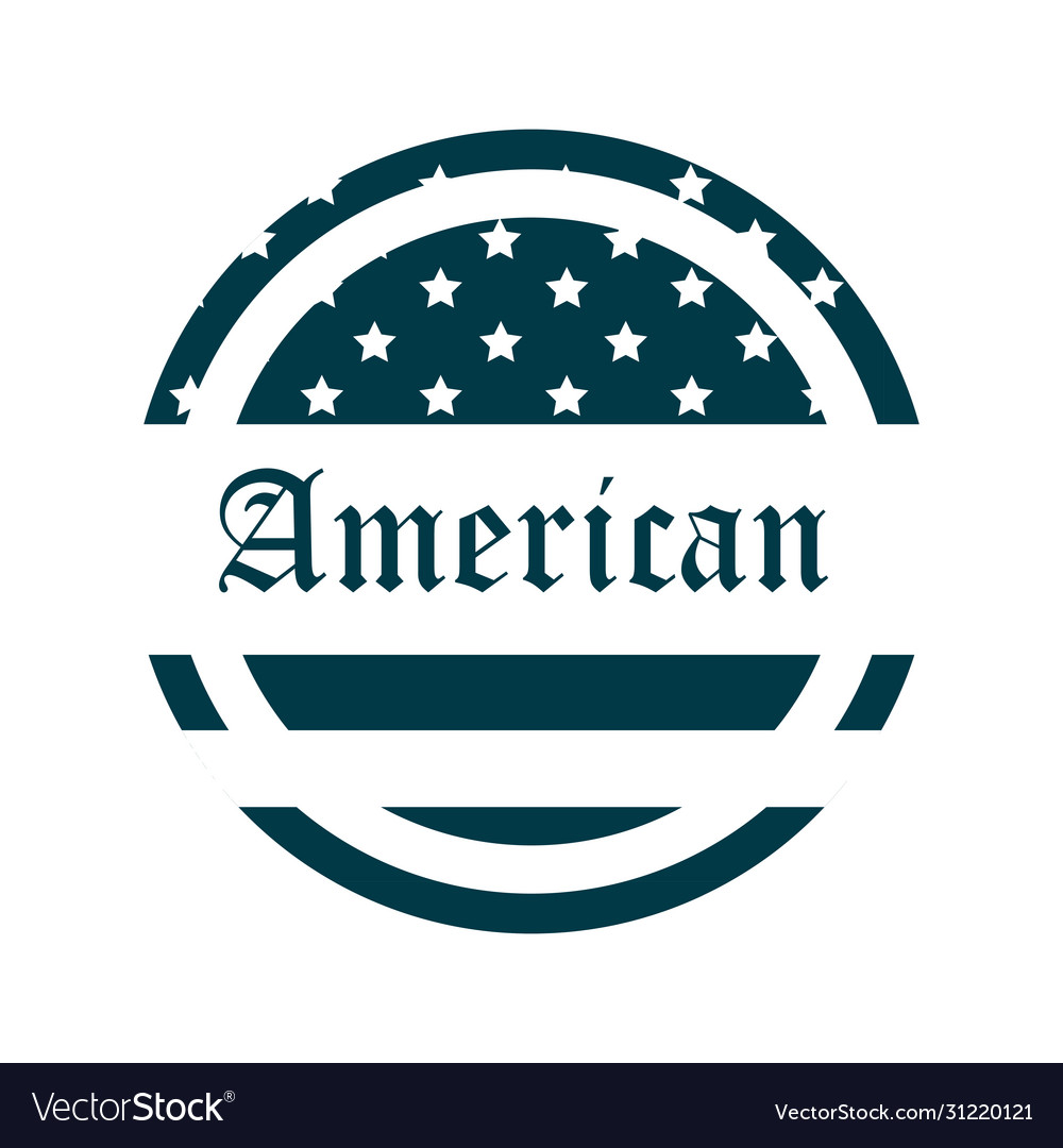 Happy independence day american flag lettering