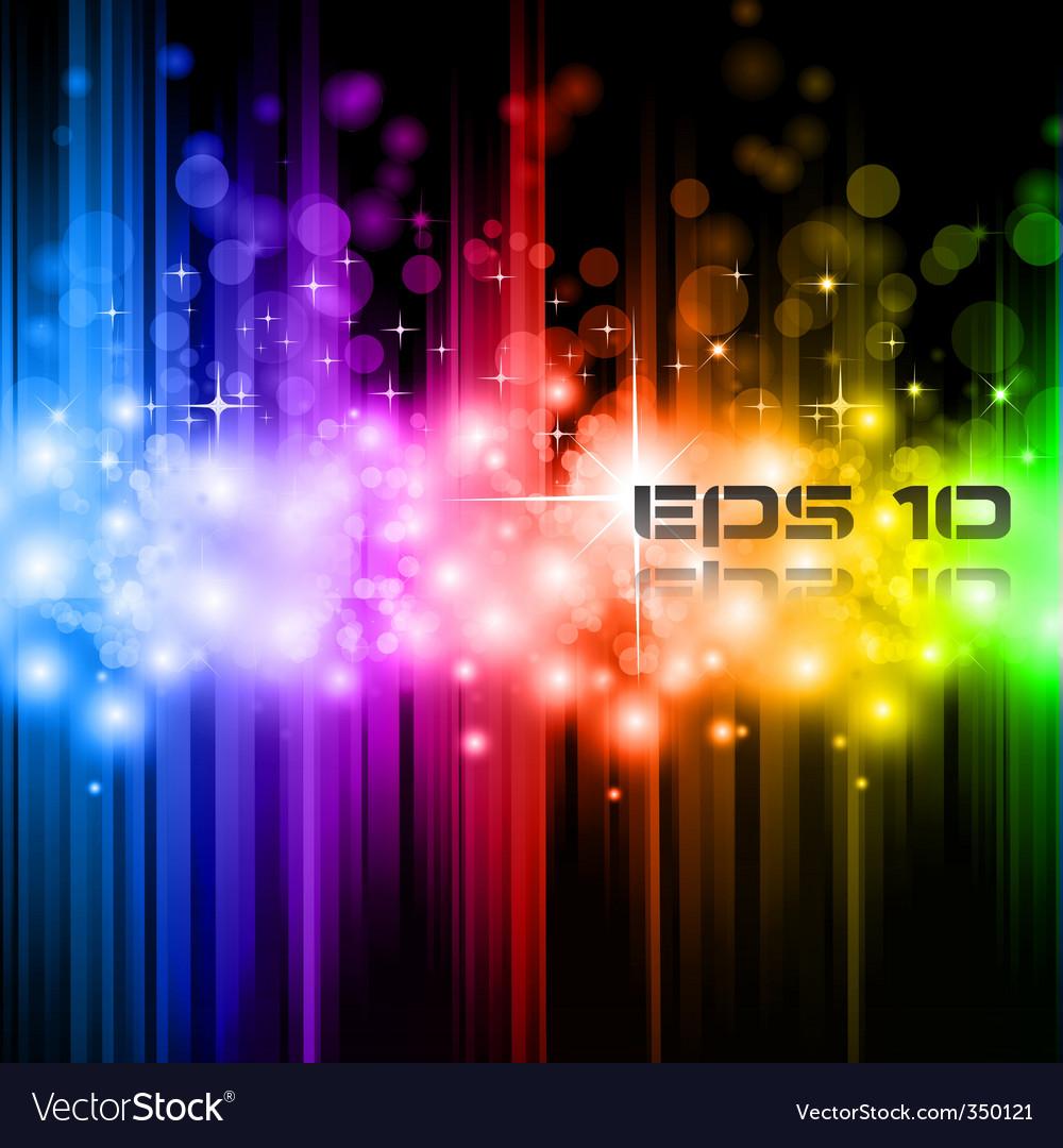 Magic rainbow lights
