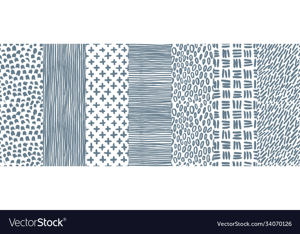Ink abstract seamless pattern background with
