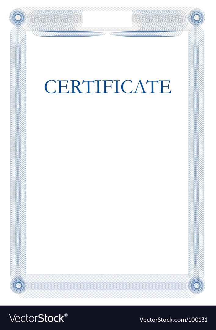 certificate template vector art download vectors 100131. Black Bedroom Furniture Sets. Home Design Ideas